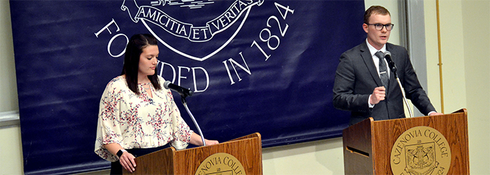 Cazenovia College Debate Society Holds Its 19th Annual Great Debate