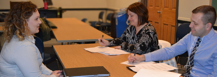 Mock Interviews for Cazenovia College Education Students Expand to Herkimer College Extension Site