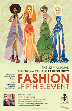 42nd Annual Cazenovia College Student Fashion Show