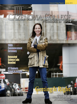 Summer 2015 issue of Cazenovia College magazine