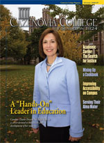 Fall-Winter 2008 Cazenovia College Magazine