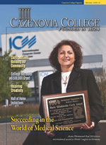 Fall-Winter 2009 Cazenovia College Magazine