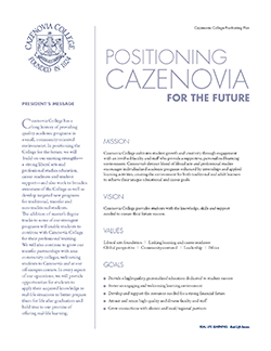 Cazenovia College Strategic Plan