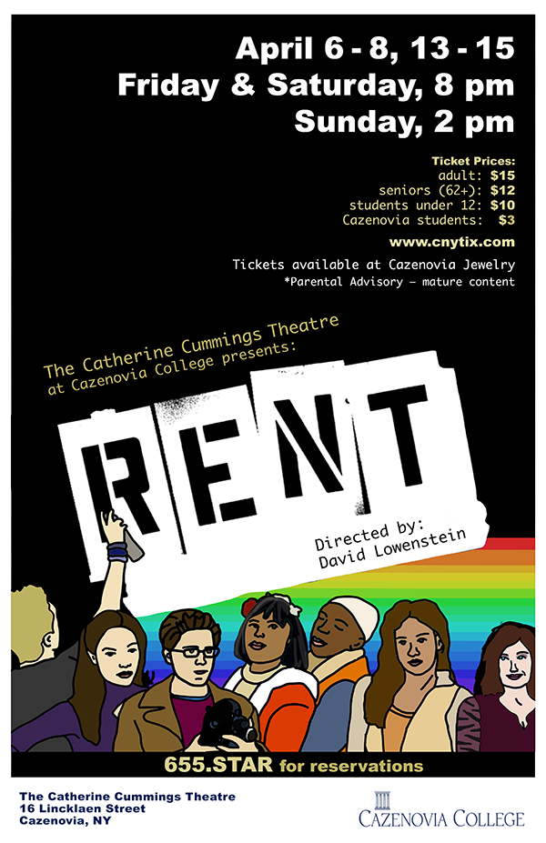 RENT at the Catherine Cummings Theatre