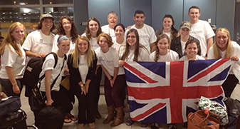 Students travel to Canterbury, England