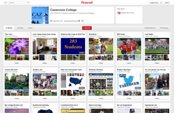 Caz College Pinterest Surpasses 100,000 Followers!