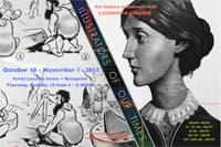 Cazenovia College Art Gallery Exhibit Illustrators of our Times