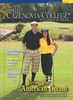 2015 Winter Issue of the Cazenovia College magazine