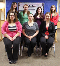 Cazenovia College Psychology students with Rachel Dinero