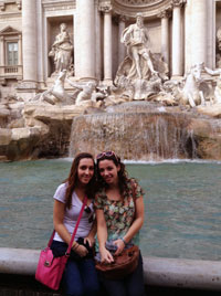 Cazenovia College Study Abroad Students in Italy