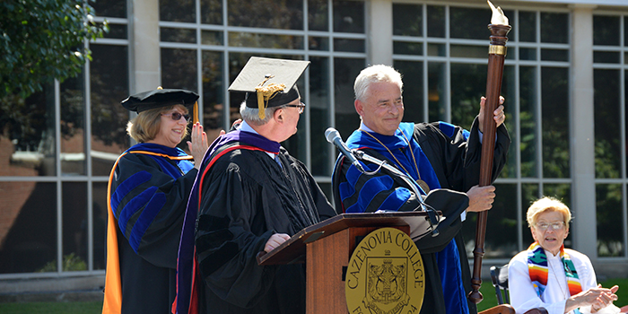 Installation of Dr. Ron Chesbrough at our 29th president