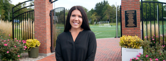 Admissions Counselor Danielle Clark