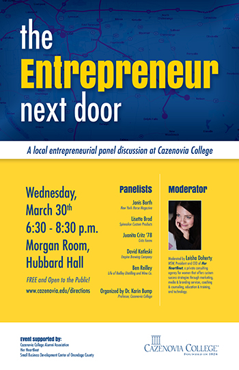The Entrepreneur Next Door Poster