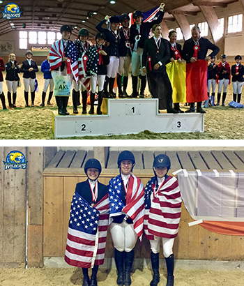 Equine Students Capture Silver in Switzerland