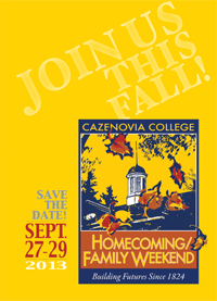 Save the Date Homecoming/Family Weekend