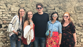Cazenovia Students in Italy