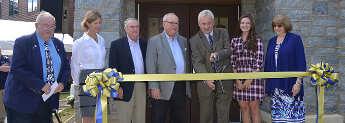 Jephson Campus - Ribbon Cutting