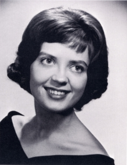 Jill Hebl St. Clair 1962 Yearbook photo