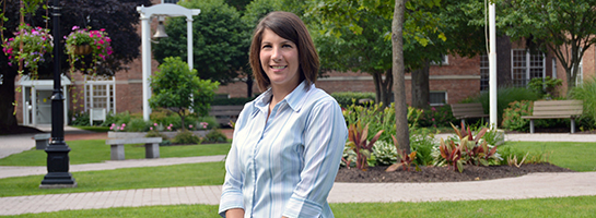 Admissions Counselor Lisa Folsom