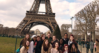 Students travel to London and Paris!