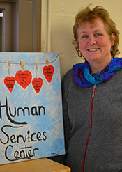 Dr. Mary Handley, professor of human services