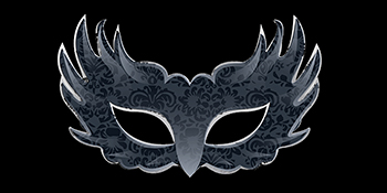 Fashion Show Mask Logo Image