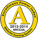 NRCCUA Enrollment Power Index Medallion