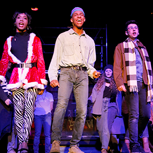 RENT performance at Cazenovia College