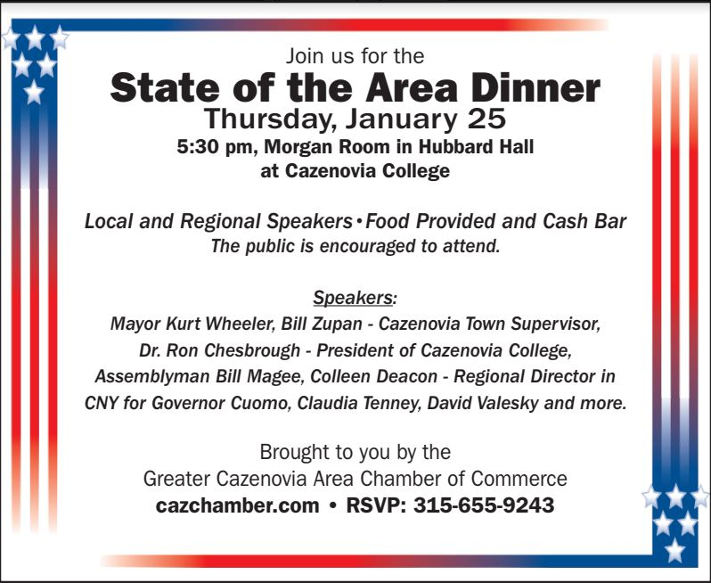 State of the Area Dinner