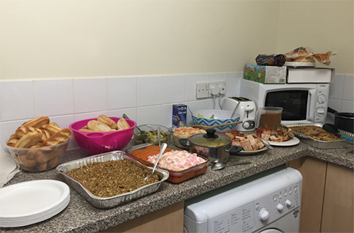 Thanksgiving Feast for 17 in Canterbury