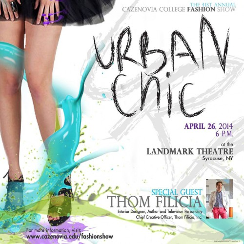 "Cazenovia College's 41st Fashion Show ""Urban Chic"""