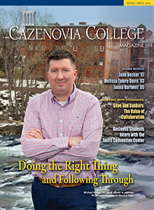 Winter/Spring 2018 Cazenovia College Magazine