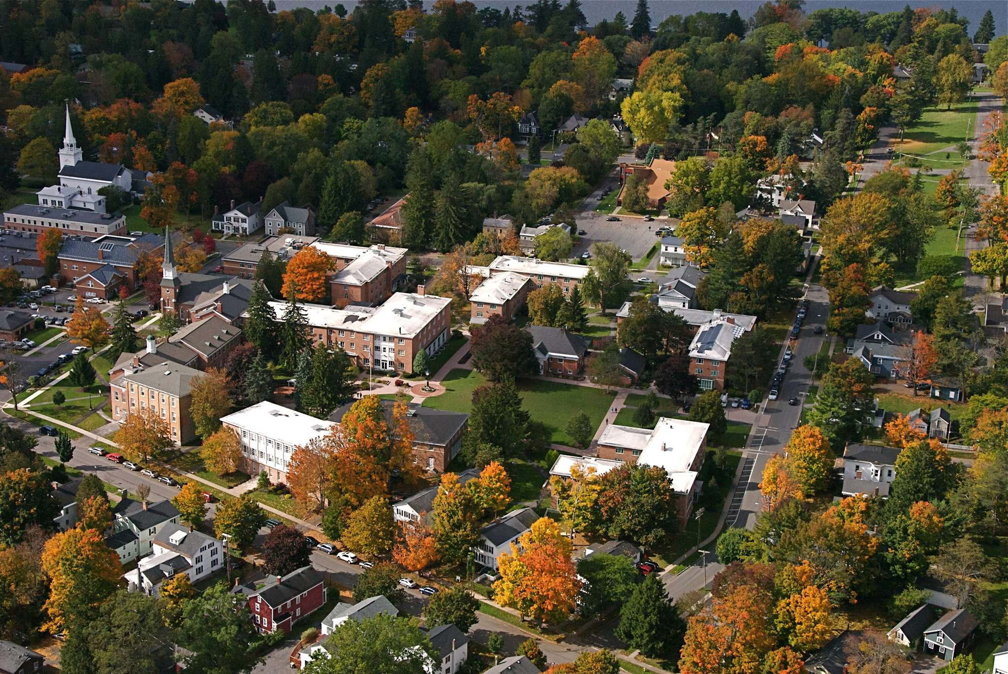 Cazenovia College's Main Campus
