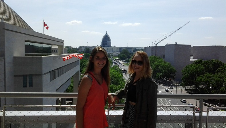 Social Science Club Trip to Washington, D.C. May 2015 (at Mu