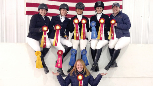 Equestrian Team w/Awards