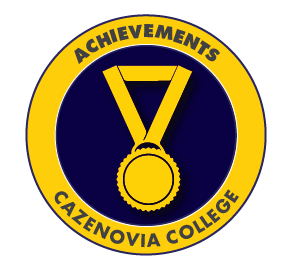 Cazenovia College Achievement Badge